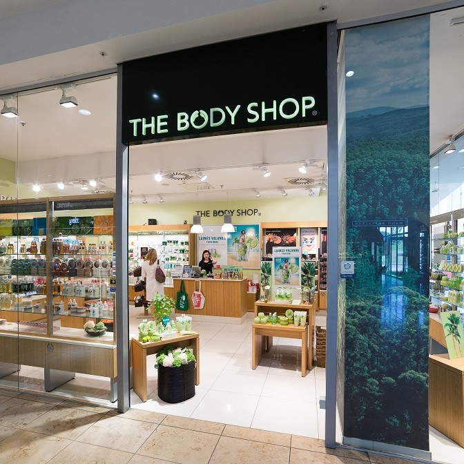 Cosmetics shop THE BODY SHOP | Shopping and Entertainment